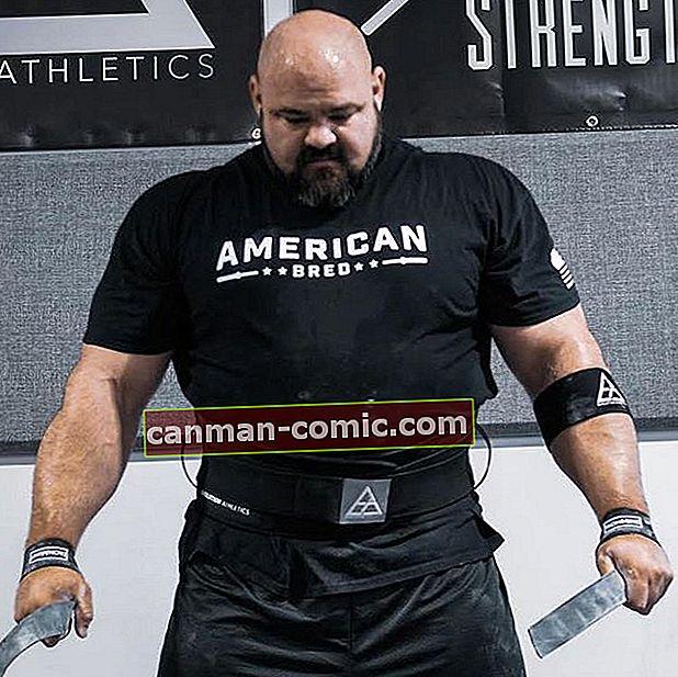Brian Shaw (Strongman) Wiki, Bio, Tinggi, Berat, Istri, Anak-anak, Kekayaan Bersih, Karir, Fakta