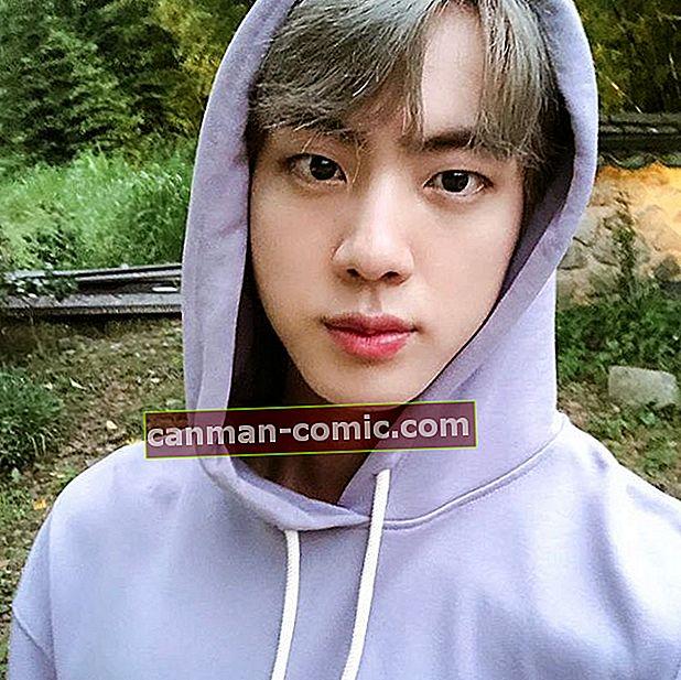 Jin (BTS) Bio, Umur, Tinggi, Pacar, Kekayaan, Fakta