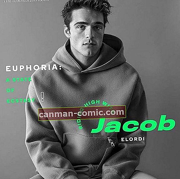 Fakta tentang Aktor TV Jacob Elordi