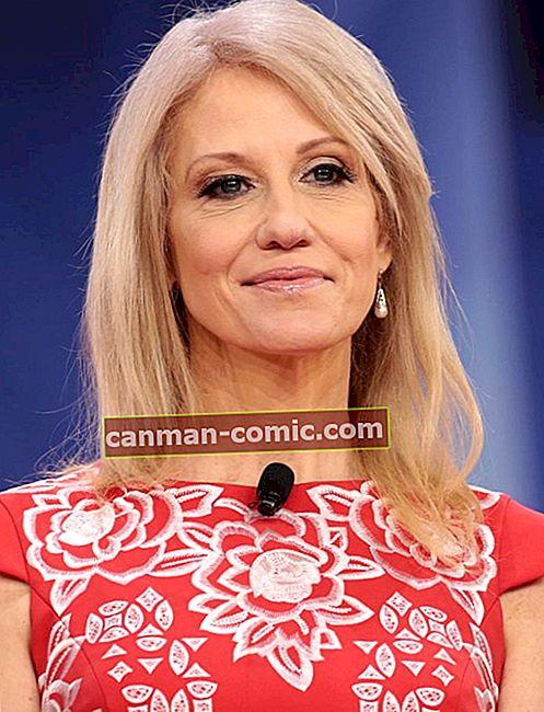 Келліанна Конвей (політик) Вікі, біографія, зріст, вага, вимірювання, вартість, чоловік, факти